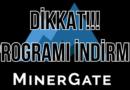 Minergate mining yapmayın !